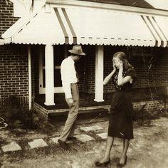 Hank Williams & friend