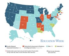 Map: The National K-12 Testing Landscape - Education Week