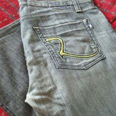Rock & Republic jeans Men blue denim  jeans Rock & Republic Jeans Boot Cut