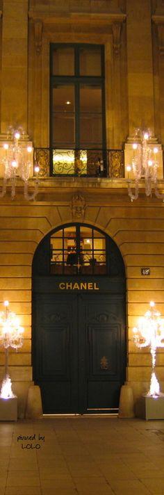 Shopping Chanel...Paris  aristocratic Opulence