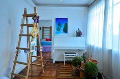 Ideias sustentáveis para reforma de apartamento - apê sustentável - reforma - dream home - arquiteta Daisy Dias - sala de estar - live room