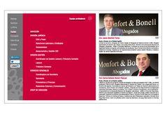 Web para Monfort & Bonell.