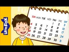 Nu Engelse liedjes voor kleuters op kleuteridee.nl  What Day Is It Today? - Learn English for Kids Song by Little Fox