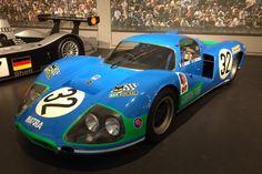 The Cité de l'Automobile in Mulhouse is proud to present three very special cars belonging to the Matra museum in Romarantin. Honda Cb750, Nissan 370z, Sports Car Racing, Race Cars, Moto Guzzi, Lamborghini Gallardo, Grand Prix, Aston Martin, Maserati