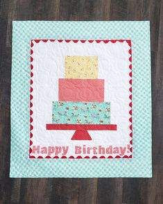 Celebrate Misty's and Missouri Star's birthday with the adorable Birthday Wall Hanging! Share your love of quilting on your special day with your very own quilted birthday cake! Follow the link below to watch the replay of Missouri Star Live now! #MissouriStarQuiltCo #MSQC #MistyDoan #BirthdayWallHanging #HappyBirthday #MSQCBirthdayBash #WallHanging #Quilting #HowToQuilt #QuiltDecor #DIYHomeDecor #BirthdayAesthetic #QuiltPattern #QuiltTutorial