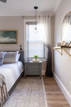Bedroom Wall Colors, Room Paint Colors, Paint Colors For Home, Bedroom Ideas, Gray Bedroom Walls, Bedroom Flooring, Cozy Bedroom, Master Bedroom, Beige Wall Paints