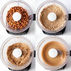 Jak zrobić domowe masło migdałowe II Cooking for Emily Cereal, Cooking, Healthy, Breakfast, Fit, Baking Center, Morning Coffee, Shape, Koken