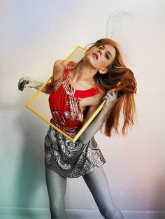 Her frame game by Miss Aniela, via Flickr