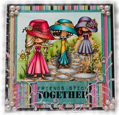 Girlfriends by Shelby68 - Cards and Paper Crafts at Splitcoaststampers
