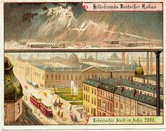 Forecasting the Future: 7 Past Visions of Century Life Vintage Ephemera, Vintage Postcards, Vintage Art, City Year, World's Fair, Imagines, Retro Futurism, What Is Life About, 21st Century