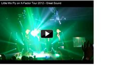 We filmed this clip during the x-factor like tour 2012. it is a great view of Little Mix flying above the crowd, coming right towards us and then...