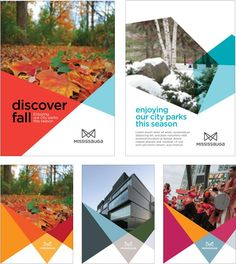 New Logo and Identity for the City of Mississauga done In-house: