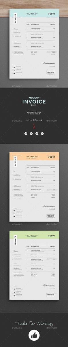 Invoice - Proposals & Invoices Stationery Download here: https://graphicriver.net/item/invoice/19919738?https://graphicriver.net/item/invoice-bundle/19931448?ref=classicdesignp