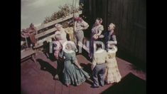 UNITED STATES: older people dance together. Square Dance, Company Brochure, People Dancing, Video Footage, Clip, Stock Video, Grandparents, Stock Footage, 1960s