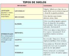 Edafología. Tipos de suelos azonales e interzonales.