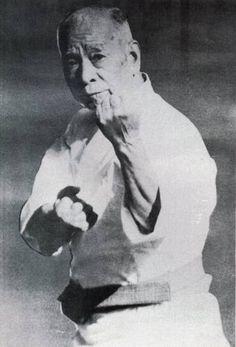 Chosin Chibana Hanshi  Kobayashi Ryu Shorin Ryu