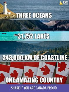 Canada - One Amazing Country - Canadian Memes, Canadian Things, I Am Canadian, Canadian History, Canadian Humour, Canadian Facts, Canada Jokes, Canada Funny, Canada 150
