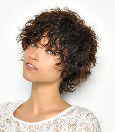 Frisuren damen kurz naturlocken