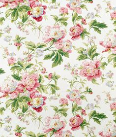 Waverly Forever Yours Spring Fabric - $21.65 | onlinefabricstore.net