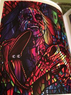 Beetlejuice Movie Poster (from Alternative Movie Posters II) by Van Orton Design