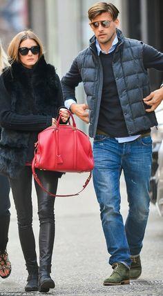 The Olivia Palermo: Black Fur Vest