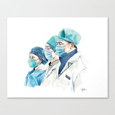 Quarant'aime - Health Care Workers Canvas Print by mpynn Care Worker, Latest Generation, Health Care, Canvas Prints, Portraits, Fictional Characters, People, Products, Art