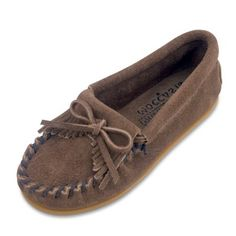 {Minnetonka Childrens Moccasins}-- but they fit me. So I bought them :)