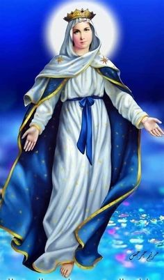 Mother Mary Images, Images Of Mary, Hail Holy Queen, Hail Mary, Blessed Mother Mary, Blessed Virgin Mary, Virgin Mary Art, I Love You Mother, Jesus Christ Images