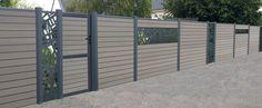 palissade composite decorative aluminium