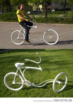 Riding a bike has never been more awesome: