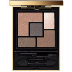 Yves Saint Laurent Couture Eye Shadow Palette - Colour 02 (£43) ❤ liked on Polyvore featuring beauty products, makeup, eye makeup, eyeshadow, palette eyeshadow and yves saint laurent