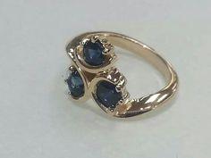 Zora's Sapphire! Beautiful work by Paul Michael