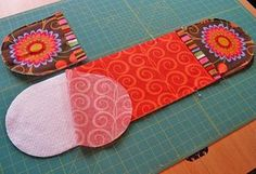 Tutorial for making this two handed oven mitt