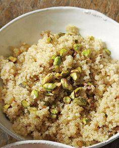 Cooking with Quinoa // Quinoa with Pistachios Recipe