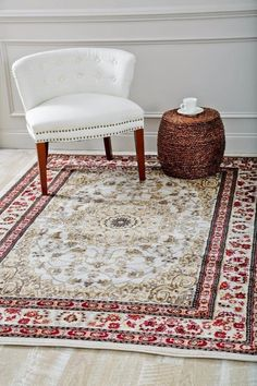 Ivory Oriental Rug | Clearance Area Rugs | Cheap Area Rugs - Bargain Area Rugs