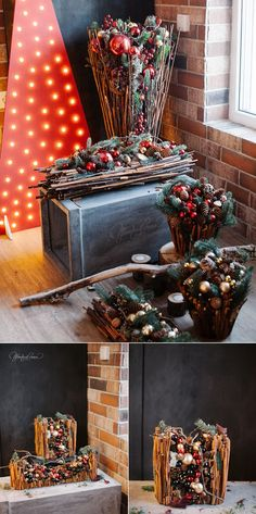 Classic Christmas Decorations, New Years Decorations, Diy Christmas Tree, Christmas Centerpieces, Christmas Design, Christmas Baby, Christmas And New Year, Christmas 2019, Christmas Holidays