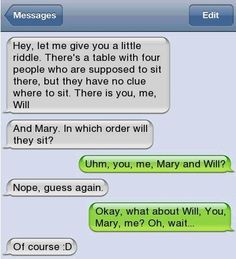 funny text messages to send to your crush - Google Search http://ibeebz.com