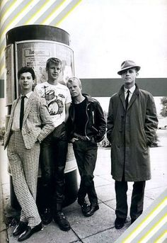Depeche Mode original lineup with Vince Clarke later of Yazoo, The Assembly and Erasure.