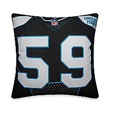 NFL Carolina Panthers 59 Luke Kuechly Jersey Pillow; $19.99