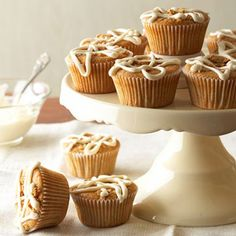 Chai Breakfast Cupcakes From Better Homes and Gardens, ideas and improvement projects for your home and garden plus recipes and entertaining ideas.