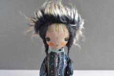 Pixie elf doll  Woodland  girl  Handmade doll  by KukloFerma
