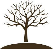 Bare Tree Silhouette | bare tree Stock Photos and Illustrations | Royalty-Free Images ...