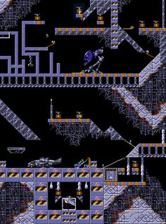 Lemmings II the tribes level map scifi space