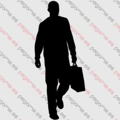Pegame.es Online Decals Shop  #man #walking #bag #vinyl #sticker #pegatina #vinilo #stencil #decal