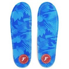 Footprint Kingfoam Orthotic Low Profile Blue Camo Insoles