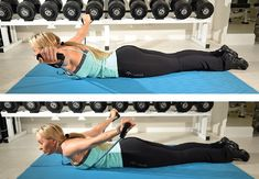 Strengthen your shoulders and back with this intense one-hit workout! Aim for three sets of 10 reps!