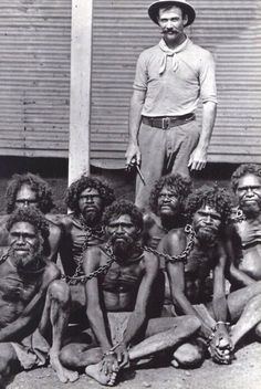 Australia, until 60s, Aborigines came under the Flora And Fauna Act, classified them as animals, not human beings