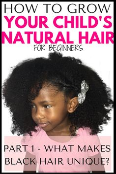 Welcome to our 5 part blog series on growing kids natural hair!     This isn't your average blog post on the topic, oh no, in this series we  are going to dive DEEP So you can gain a COMPLETE understanding of your  kids natural hair and how to grow it to it's full potential.     By the end of this series YOU will be empowered and have the knowledge  required to get the best out of your child's hair, no matter its present  condition, its type or texture.  So let's go…  Firstly yes, it's true…