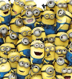 Despicable Me minions have only been around for five years. Everywhere you turn there's a minion or minion reference. Here are 10 Fun Facts about Minions. Amor Minions, Minions Quotes, Whatsapp Wallpaper, Iphone 5 Wallpaper, Disney Wallpaper, Minion Wallpaper Iphone, Wallpaper Ideas, Cute Minions Wallpaper, Wallpaper Awesome