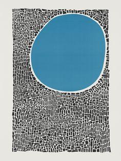 Abstract Blue Lake Art Print by foxandvelvet Water Poster, Lake Art, Mid Century Art, Arte Pop, Art Graphique, Aboriginal Art, Art Plastique, Framed Art Prints, Art Inspo